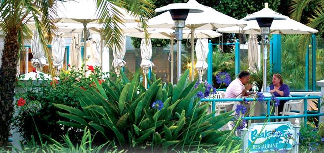 Santa Barbara Harbor - Breakwater Restaurant