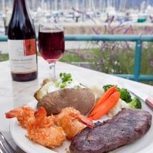 Breakwater-Restaurant-steak-dinner